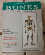 Flash Anatomy Cards- Bones
