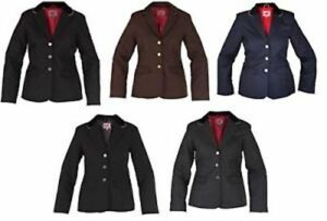 Red Horse Ladies Concours Show Jumping Riding Competition Jacket - 4 colours