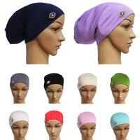 Women's Muslim Hair Loss Head Scarf Hat Chemo Hijab Cap Turban Head Wrap Cover