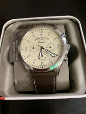 Fossil Forrester Chronograph Cream Dial 44mm Men's Watch