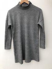Ladies Tunic Dress Size 10 Grey Long Sleeve.
