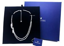 New Authentic SWAROVSKI Rhodium Sparkle Crystals Nice Choker Necklace 5493404