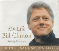 Bill Clinton My Life 6CD Audio Book Abridged Autobiography US President FASTPOST