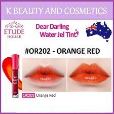 [Etude House] Dear Darling Water Gel Tint (#OR202 ORANGE RED) *NEW 2017* 4.5g