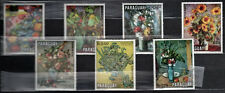 Paraguay 1970 Mi 2092-2098 Paintings of flowers - MNH (1)