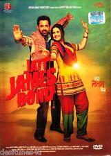 JATT JAMES BOND - ORIGINAL BOLLYWOOD PUNJABI DVD - FREE POST