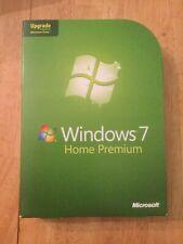 Microsoft Windows 7 Home Premium Operating System Upgrade 32 64 DVD GFC-00020