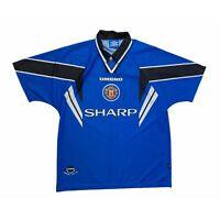 🔥Original Manchester United 1996/97 Third Football Shirt Umbro - Size XL🔥