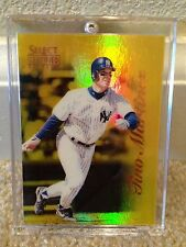 1996 SELECT CERTIFIED TINO MARTINEZ #2 MIRROR GOLD - only 30 made