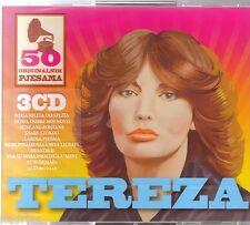 TEREZA KESOVIJA 3 CD 50 originalnih pjesama Hit Croatia BOX Best More Dubrovnik