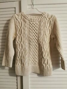 H&M Cable Knit Boys Jumper 2-3-4 Years