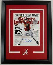 Jalen Hurts Autographed Custom Framed Sports Illustrated Cover 11x14 JSA Alabama