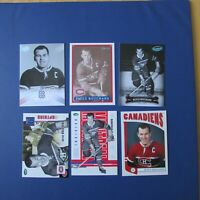 EMILE BUTCH BOUCHARD   (12 diff)   Hockey Cards  Montreal Canadiens 1992 / 2008