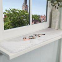 Nani Windowsill Laying Mat for Cats and Kittens Plush Cover 90 x 28cm