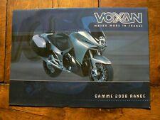 prospectus catalogue moto : VOXAN gamme 2008