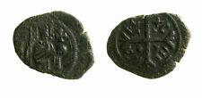 s279_15) RUGGERO II (1105-1154)  Follaro Re in Trono, Messina MIR 20 raro