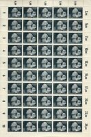 Stamp Germany Mi 812 Sc B202 Sheet 1942 WWII Fascism Memorial Dead Fighter MNH