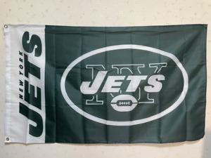 New York Jets  Flag 3X5 FT NFL Banner Polyester