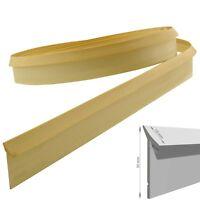 4,2m  Dichtungsprofil Dichtleiste PVC  Streifen Beige