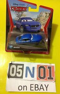 Disney Pixar CARS 2 Bindo Mattel Diecast Vehicle #37 New (FB01)