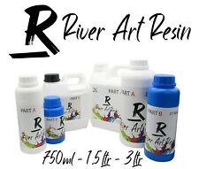River Art Resin High Performance 2:1 Epoxy Resin Ultra-Clear VOC Free