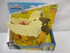 Fisher price Imaginext DC Superfriends Zeus Flying Lion Wonder Woman Dad father
