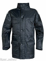 Delta Plus Panoply Hedmark Navy Blue Mens Waterproof Jacket Coat Work Coat Parka