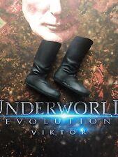 Star Ace Underworld Evolution Viktor Tall Black Boots loose 1/6th scale