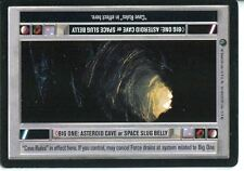 Star Wars CCG Dagobah Limited BB Big One: Asteroid Cave/Space Slug Belly [LS]