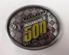 1996 Indianapolis 500 Event Belt Buckle 40 of 500 Limited Buddy Lazier Hemelgarn