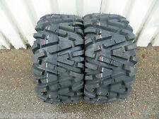 Yamaha Yfm450 Grizzly Duro Power Grip Radial Tyre Rear 25x10-12 2 Pcs
