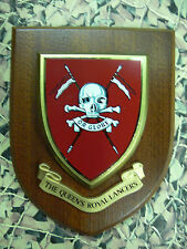 Regimental Plaque / Shield - Queens Royal Lancers