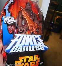 STAR WARS FORCE BATTLERS CHEWBACCA WITH WATER FIRING BLASTER MIB FREE U.S. SHIP