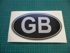 "GB (Black & Silver) 7"" sticker"