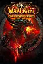 World Of Warcraft  Catclysm Cover Art Poster,24X36