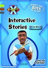 Project X: Year 3-4/P4-5: Interactive Stories CD-ROM Unlimited User by McGowan,