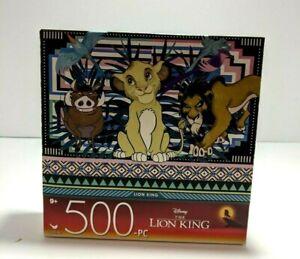 THE LION KING DISNEY 500 Piece Puzzle