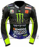 Free Shipping Motorcycle / Motorbike Racing Street Gear Leather Jacket