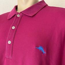 TOMMY BAHAMA Plum Cotton Short Sleeve Men's Polo 3XLB $145