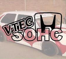 Vtec SOHC Hater JDM Sticker Autocollant PS Power fun like Shocker