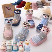 2018 Baby Boy Girl Socks Cotton Children Floor Socks Anti-Slip Baby Step Socks A