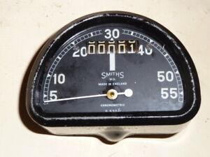 Vintage Smiths Chronometric Speedometer - BSA Bantam Etc.