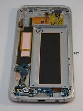 Gold LCD & Cracked Touch Samsung Galaxy S7 Edge SM-G935P Sprint Phone OEM #660