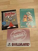 Vintage Bully Mags Bully Promotions, Who Framed Roger Rabbit, Walt Disney 1985