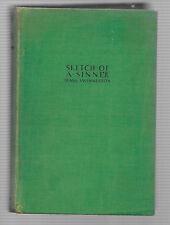 1929,  Sketch of a Sinner by Frank Swinnerton; NO dust jacket, First Edition