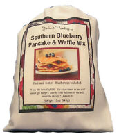 Blueberry Pancake and Waffle Mix with Real Blueberries, 12oz Cloth