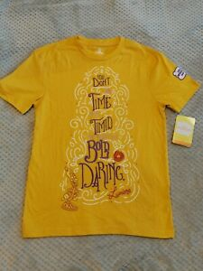 Disney T-Shirt Limited Edition Wisdom Embroidered Lumiere (UK Exclusive) - UK XS