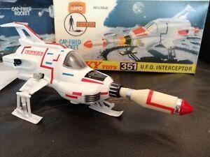 BOXED DINKY Toys 351 UFO shado interceptor Gerry Anderson VINTAGE TV SERIES.
