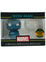 Funko Hikari XS Iron Man Figure Set Blue & White Marvel Limited Edition 500
