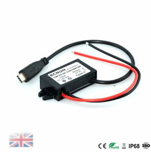 Type-C USB 8-32V 12V 24V to 5V 3A DC DC Step Down Converter 15W Charger P Supply